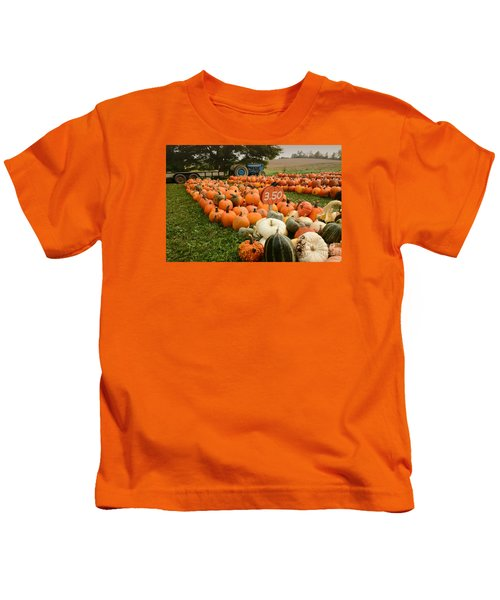 The Pumpkin Farm One Kids T-Shirt
