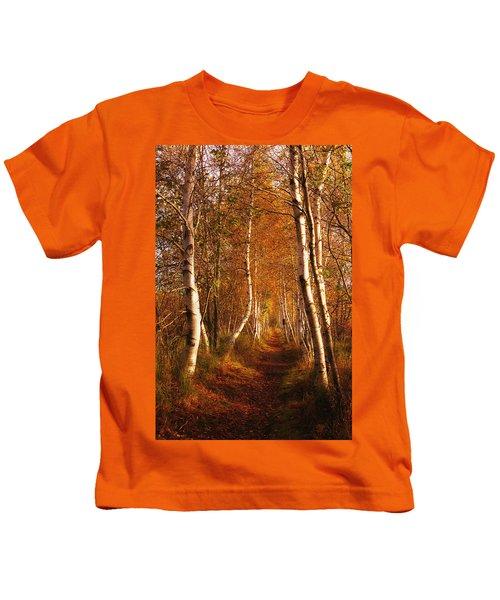 The Road Not Taken Kids T-Shirt