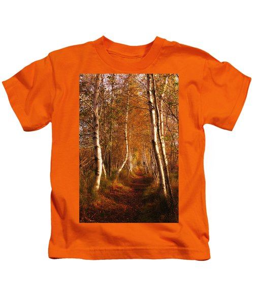 The Road Not Taken Kids T-Shirt