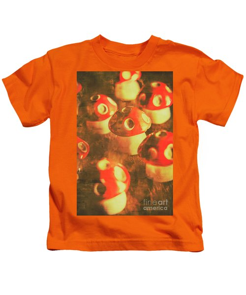 Toadstools From Old Worlds Kids T-Shirt