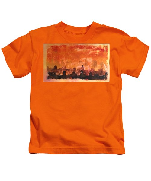 Towers And Tanks Kids T-Shirt