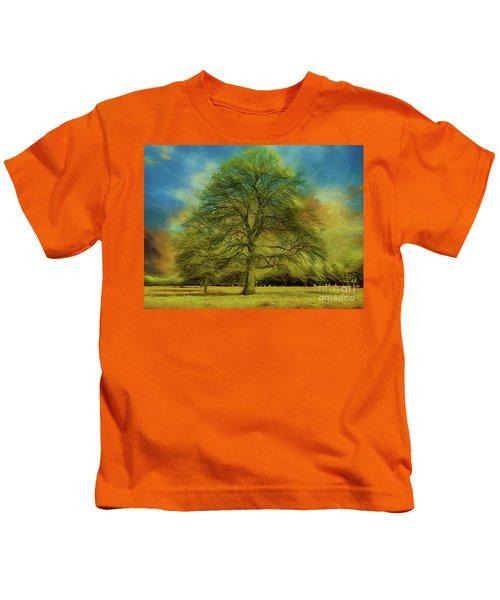 Tree Three Kids T-Shirt