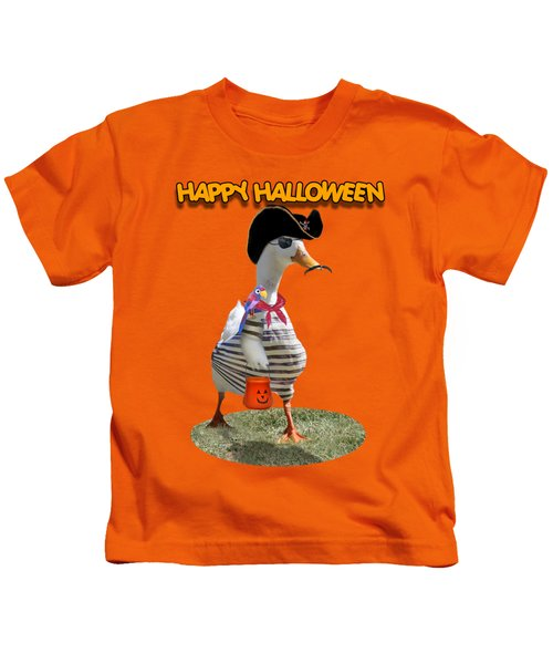 Trick Or Treat For Cap'n Duck Kids T-Shirt