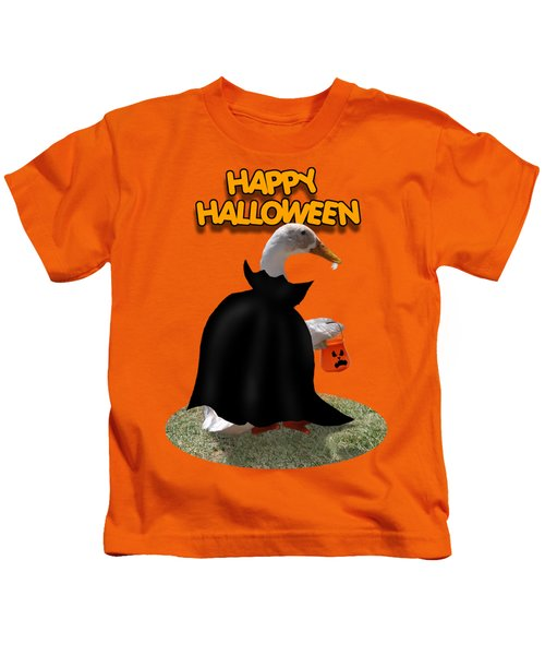 Trick Or Treat For Count Duckula Kids T-Shirt