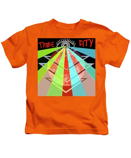 Triiibe City For Bxdizzy419 Kids T-Shirt
