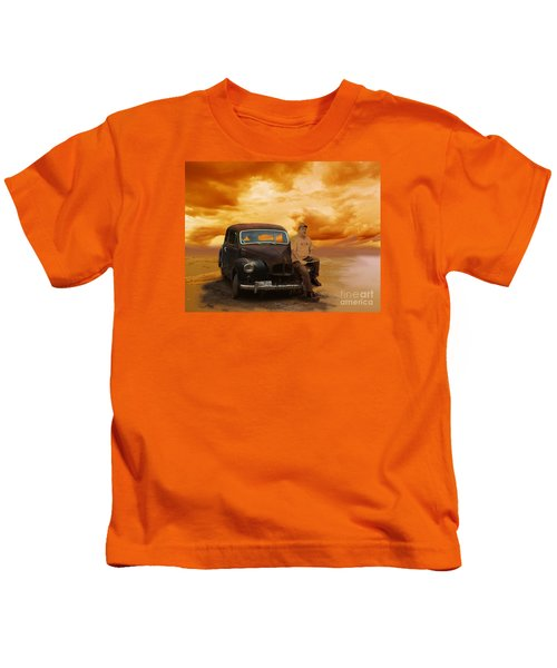 Trippin' With My '48 Austin A40 Kids T-Shirt