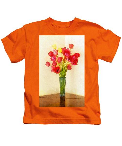 Tulip Bouquet Kids T-Shirt