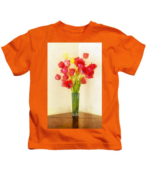 Tulip Bouquet Kids T-Shirt