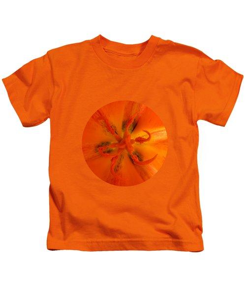Tulip Center By V.kelly Kids T-Shirt