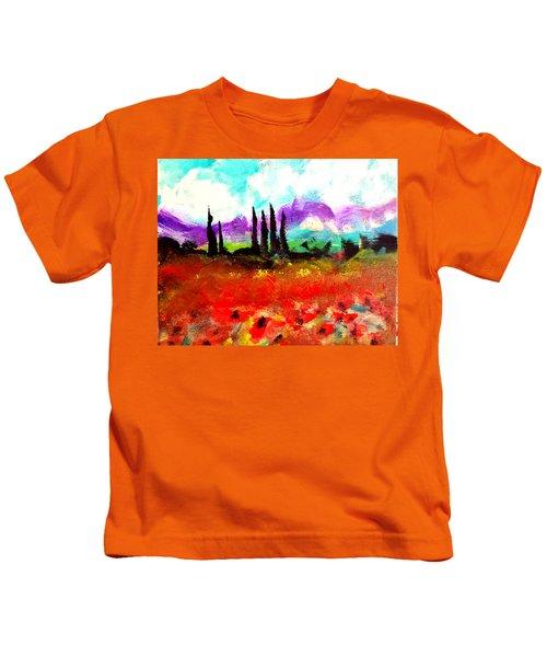 Tuscany Fields Kids T-Shirt