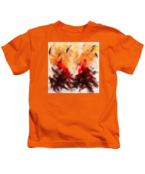 Two To Tango Abstract Kids T-Shirt
