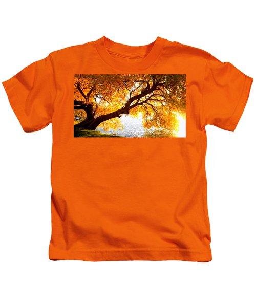 Under The Yellow Tree Kids T-Shirt