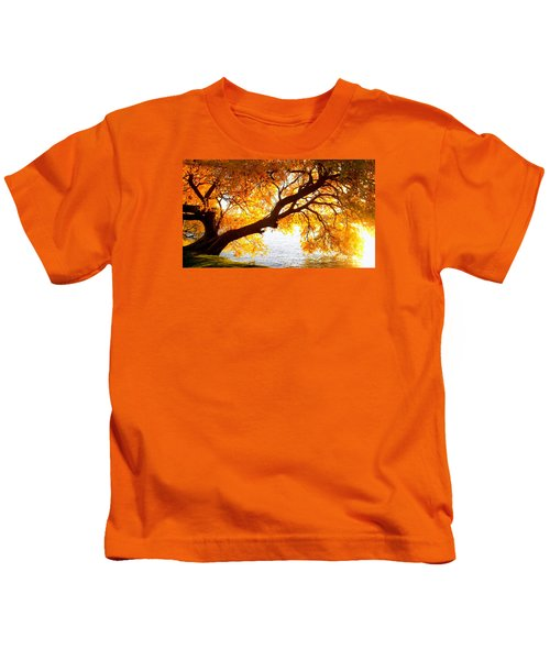 Under The Yellow Tree Kids T-Shirt