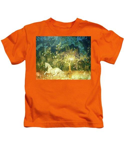 Unicorn Resting Series 3 Kids T-Shirt
