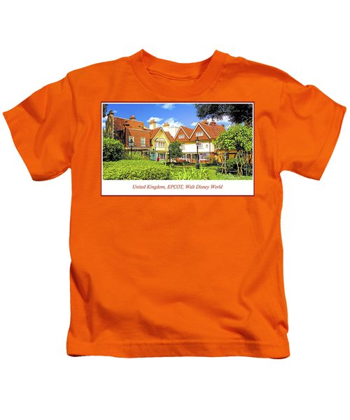 United Kingdom Buildings, Epcot, Walt Disney World Kids T-Shirt