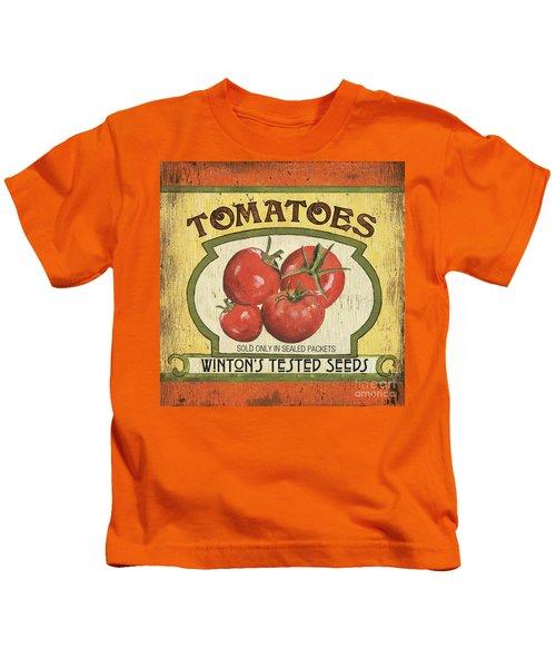 Veggie Seed Pack 3 Kids T-Shirt