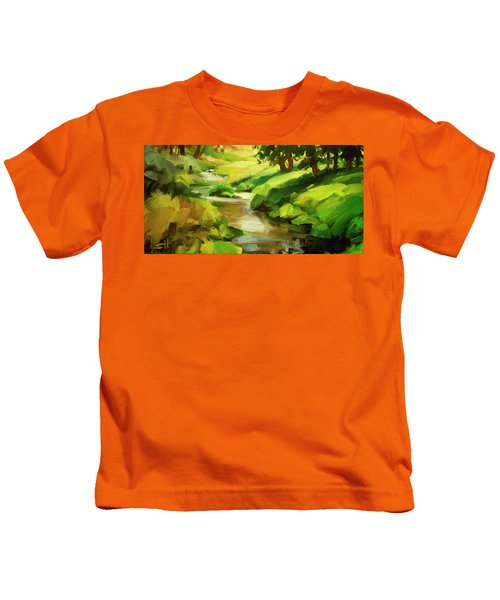 Verdant Banks Kids T-Shirt
