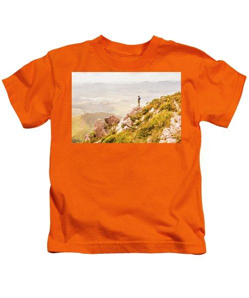 Views On West Coast Tasmania  Kids T-Shirt