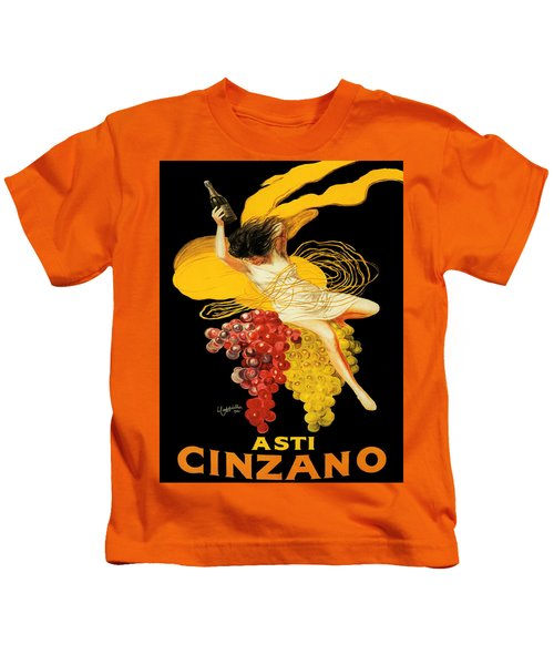 Vintage Poster - Asti Cinzano Kids T-Shirt