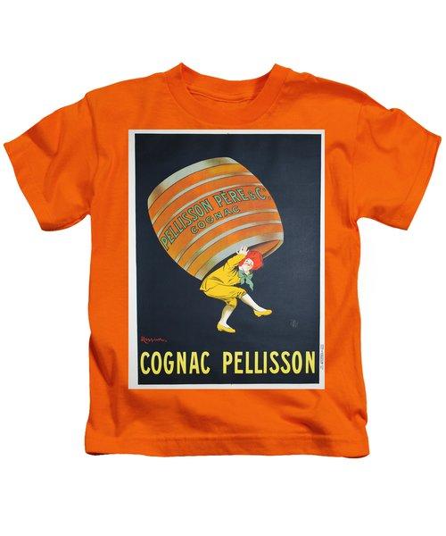Vintage Poster - Cognac Pellisson Kids T-Shirt