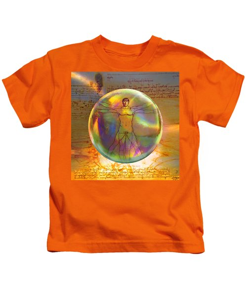 Vitruvian Vulcan Kids T-Shirt