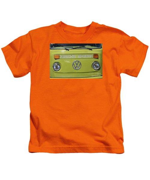 Vw Bus Vintage Kids T-Shirt