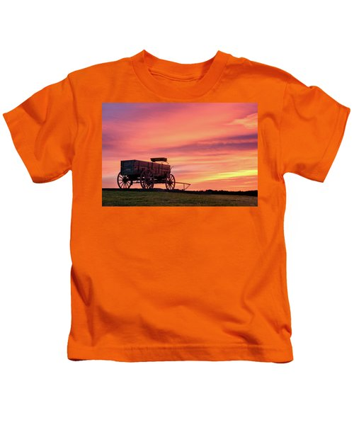 Wagon Afire Kids T-Shirt