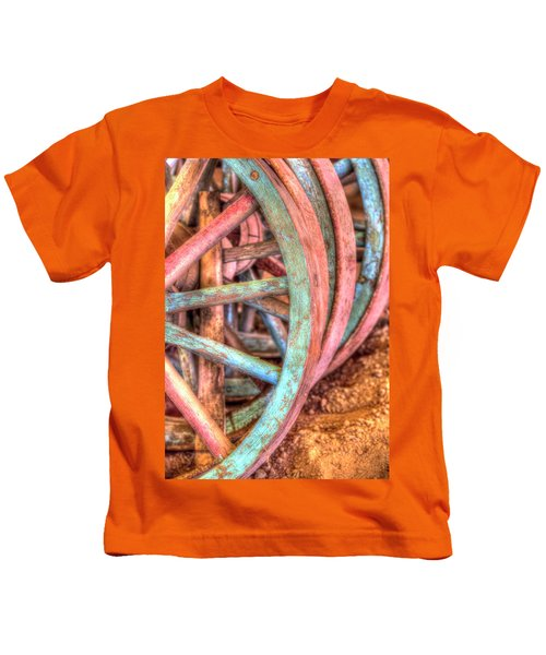Wagon Wheels Kids T-Shirt