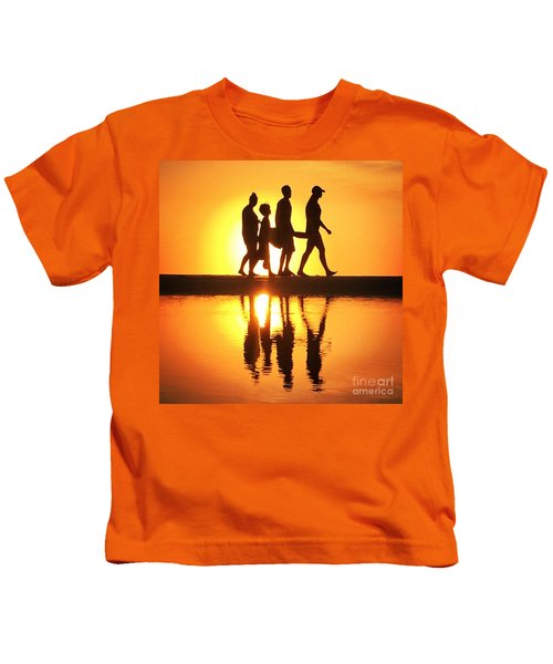 Walking On Sunshine Kids T-Shirt
