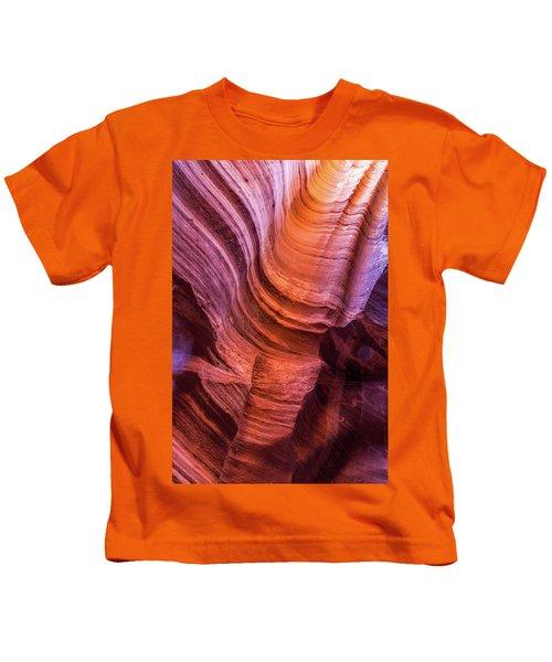 Waterholes Canyon Ribbon Candy Kids T-Shirt