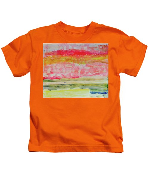 Watery Seascape Kids T-Shirt