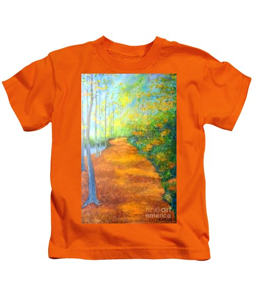 Way In The Forest Kids T-Shirt
