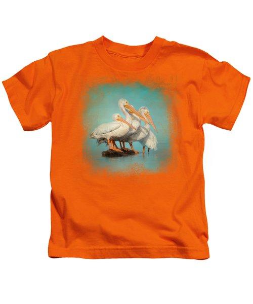 We Are Family Kids T-Shirt by Jai Johnson