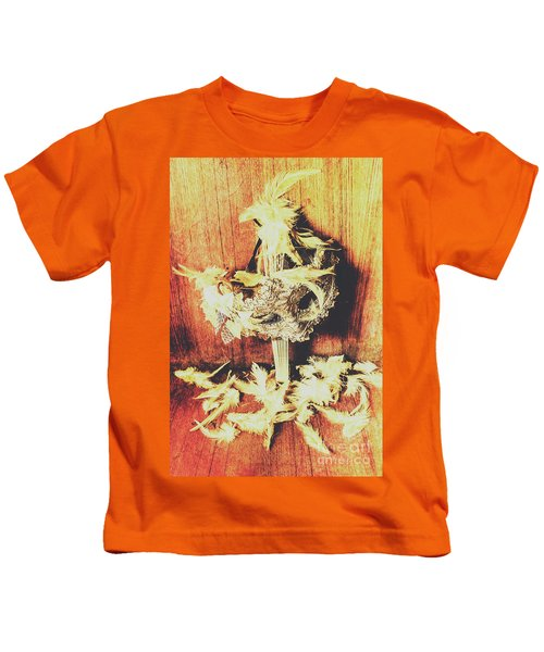 Wild West Saloon Dancer Still Life Kids T-Shirt
