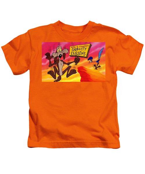 Wile E Coyote Kids T-Shirt