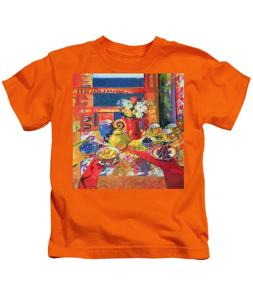 Window To Cannes Kids T-Shirt