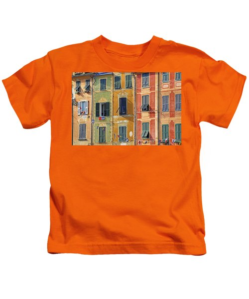 Windows Of Portofino Kids T-Shirt