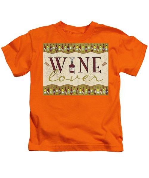 Wine Lover Kids T-Shirt