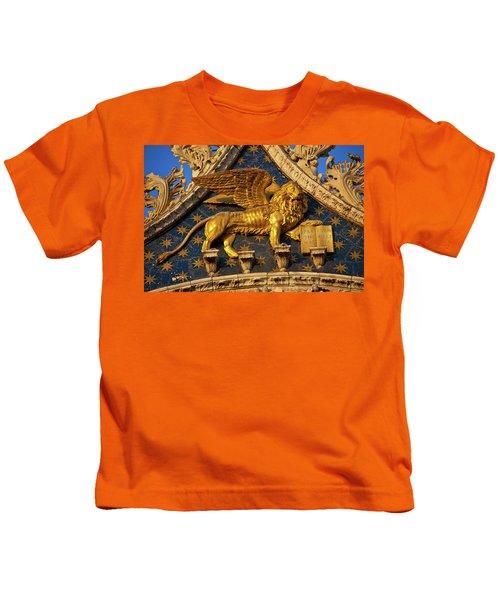 Winged Lion Kids T-Shirt