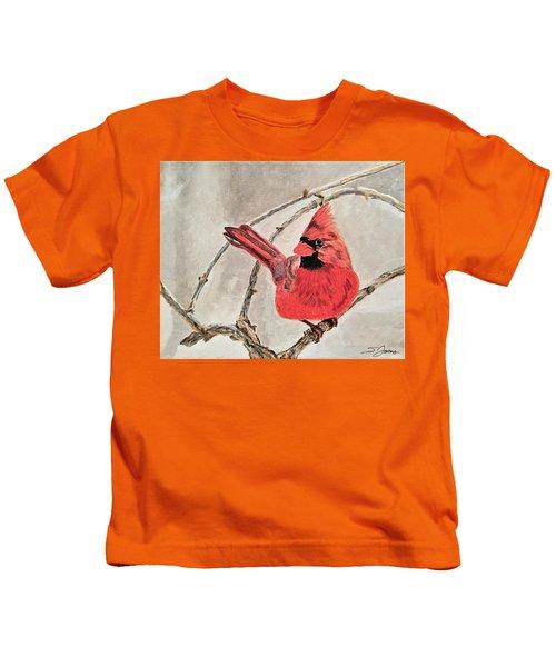 Winter Sentinal Kids T-Shirt