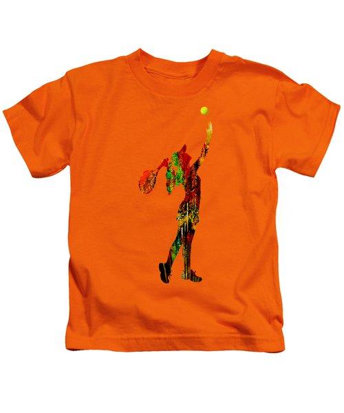 Womens Tennis Collection Kids T-Shirt