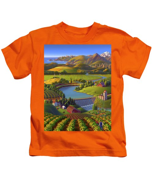 Washington State University  Anniversary Poster  Kids T-Shirt