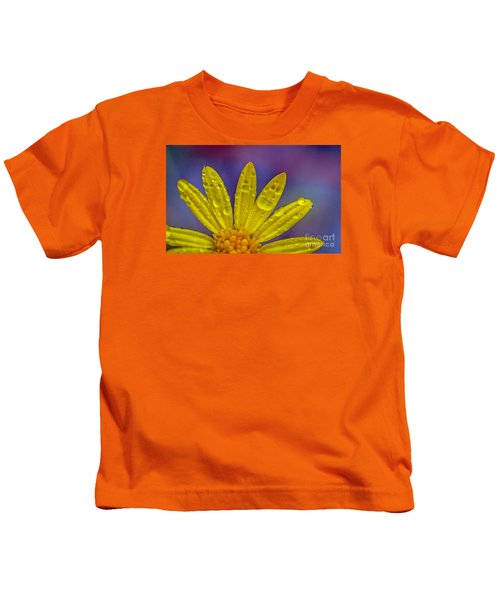 Yellow And Dew Kids T-Shirt
