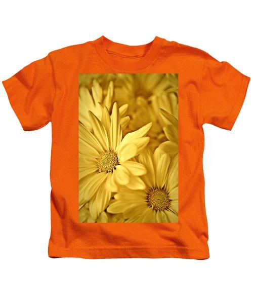 Yellow Daisies Kids T-Shirt