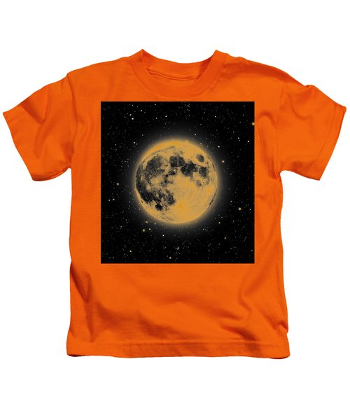 Yellow Moon Kids T-Shirt