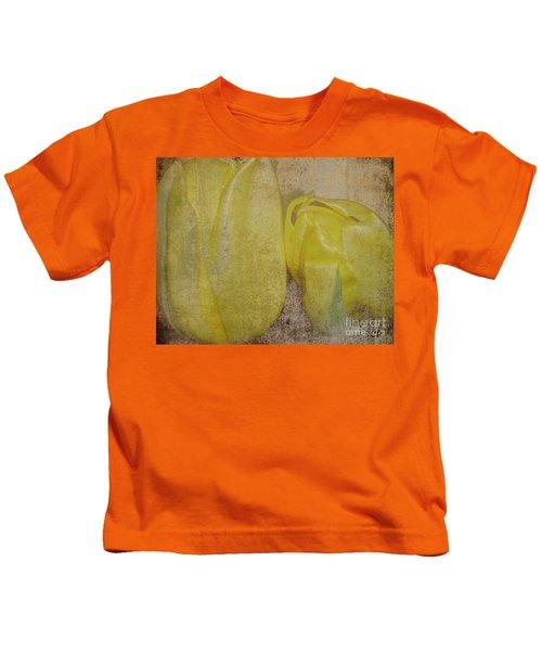 Yellow Strands Kids T-Shirt
