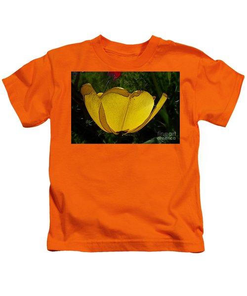 Yellow Tulip 2 Kids T-Shirt