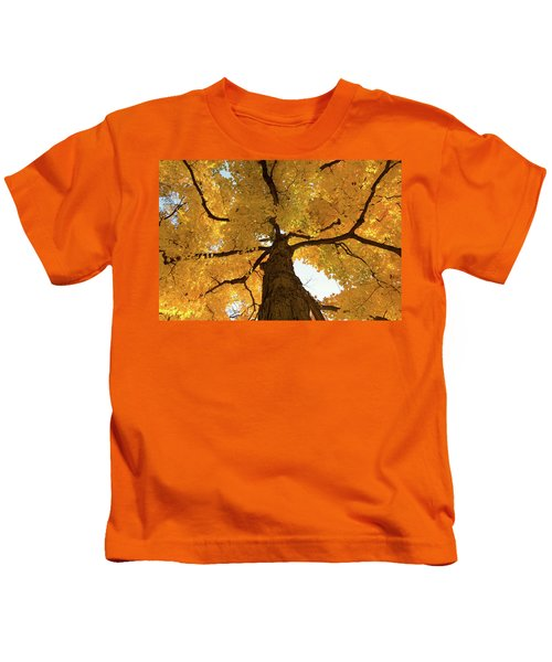 Yellow Up Kids T-Shirt