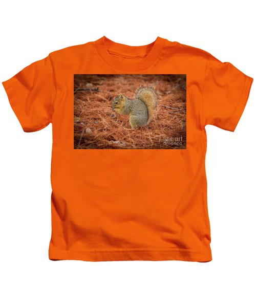 Yum Yum Nuts Wildlife Photography By Kaylyn Franks     Kids T-Shirt