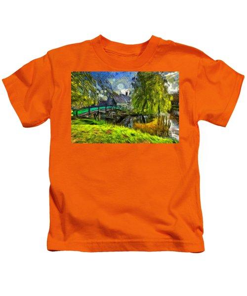 Zaanse Schans Kids T-Shirt